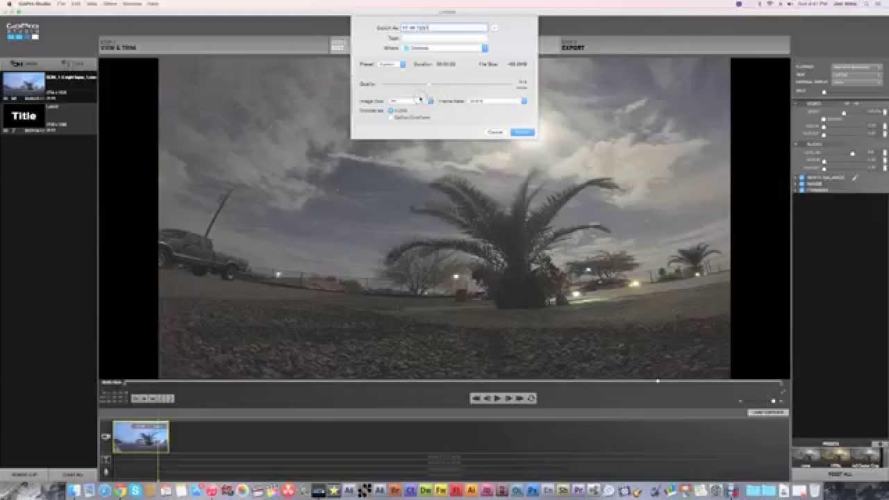 How To Edit/Export 4K Videos On GoPro Studio (Shown On Yosemite ...