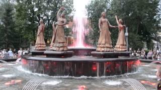 фонтан 7 девушек в Уфе