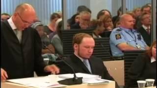 Норвежский террорист Андерс Брейвик, убивший 77 челове