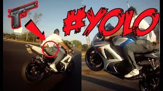 Protect your motorcycle! + Wheelie