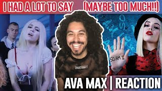 Ava Max - So Am I [Official Music Video] | REACTION |