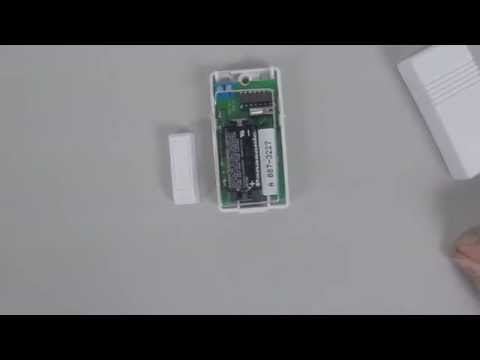 Honeywell 5816 How To Get The Serial Number On A Wireless