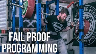 Big Squats and Fail Proof Programming - Microcycles