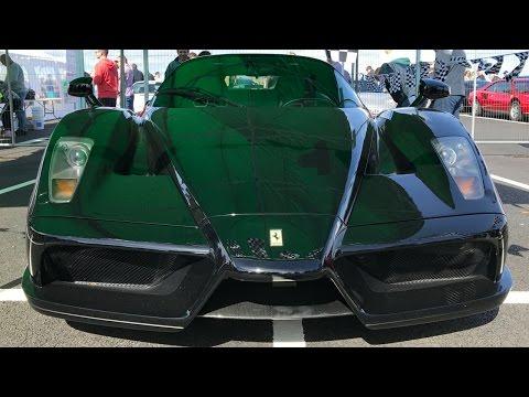 Ferrari Enzo & Bugatti Veyron - Porsche Supercar Sunday Limerick IRL - Stavros969