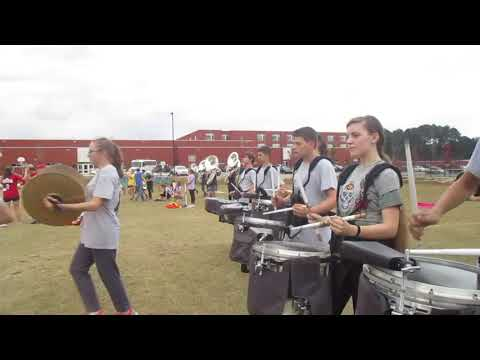 2018 - Apex Friendship High School Drumline (Part of Opener)
