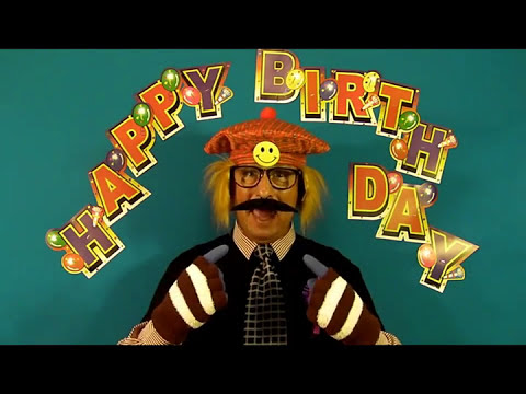 Funny Happy Birthday AJ. AJAY. AJAX. AJA song