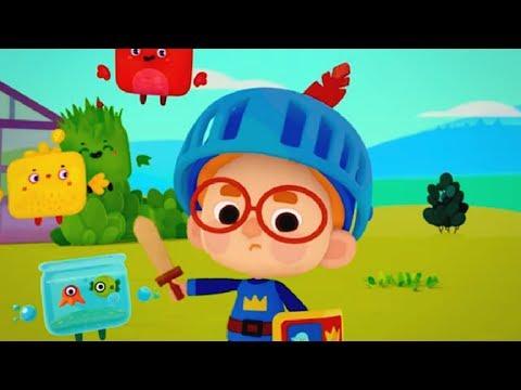 Четверо в кубе - Рыцарский подвиг - Серия 6 - современные российские мультики для детей