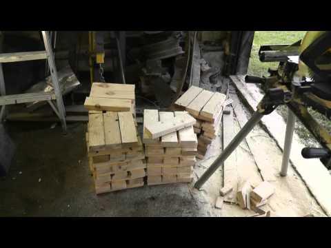 Crib Blocks instead of Jack Stands