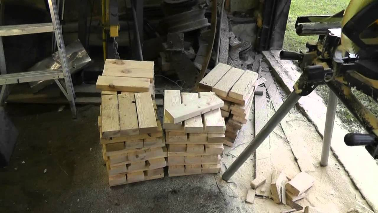 Crib Blocks Instead Of Jack Stands Youtube