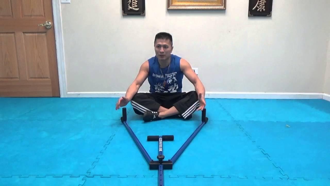 E Z Stretch Pro Leg Stretcher Split Stretching Machine Youtube