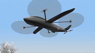 видео «Airbus» разработает гибридный пассажирский самолет