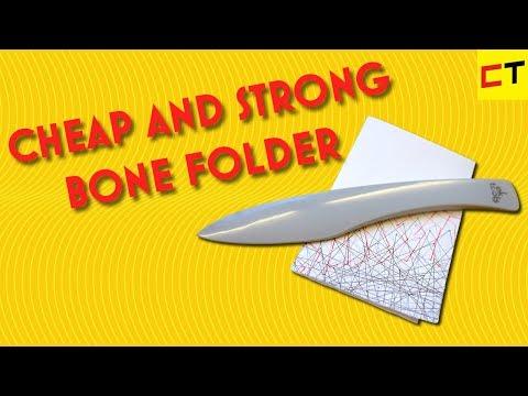 Cheap plastic bone folder that lasts forever