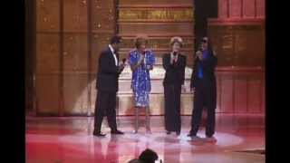 Whitney Houston, Luther Vandross, Dionne Warwick, Stevie Wonder LIVE - Thats What Friends Are For thumbnail