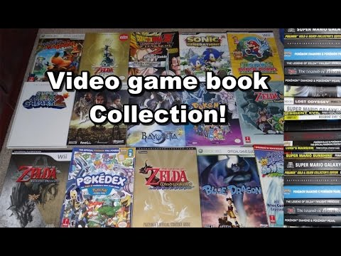 Video game Strategy Guide & Art Book Collection