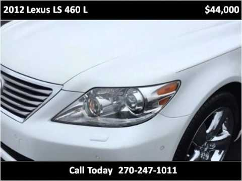 2012 lexus ls 460 l used cars mayfield ky youtube for Seay motors mayfield ky