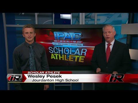 Scholar Athlete - Wesley Pesek - Jourdanton High School