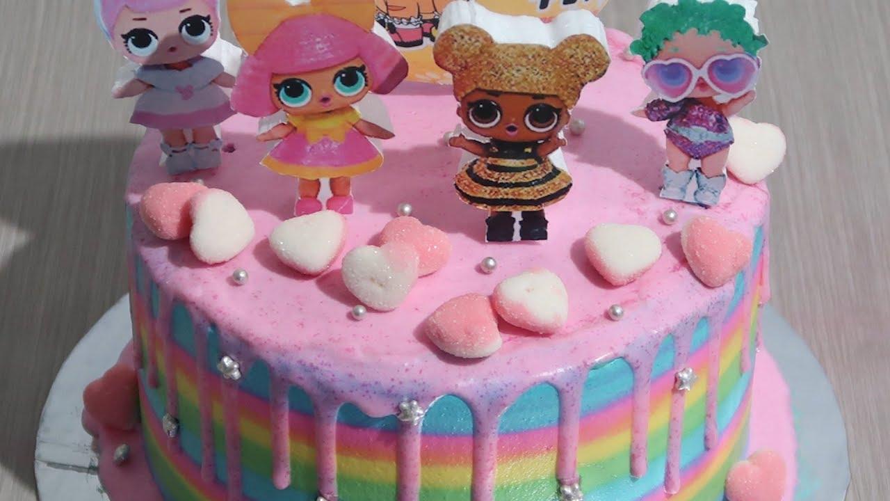 4 LOL SURPRISE CAKE Kompilasi , Kue Ulang Tahun Anak ...