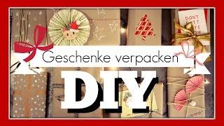 Süße und einfache Ideen - Geschenke verpacken DIY | funnypilgrim