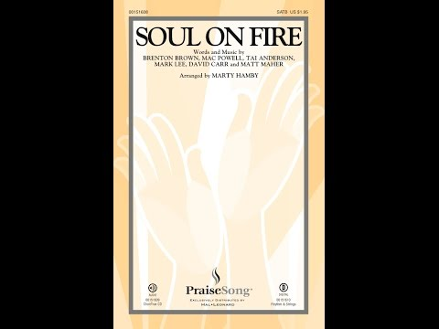 SOUL ON FIRE - Third Day/arr. Marty Hamby