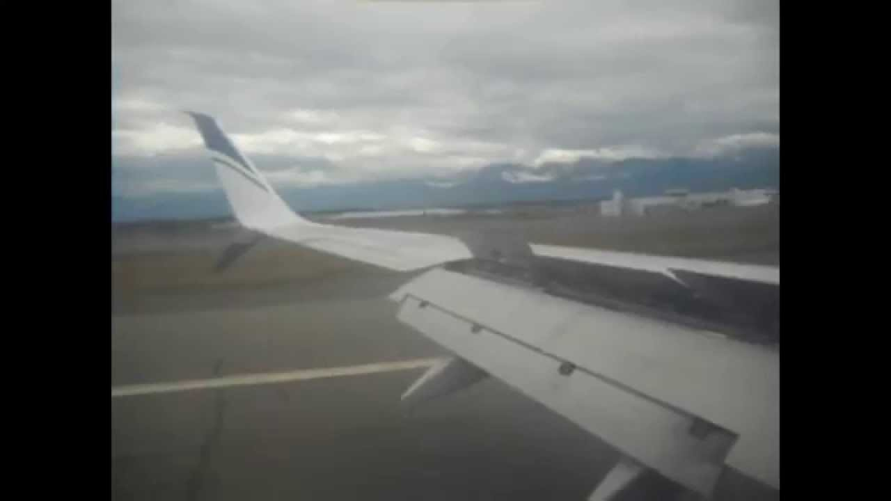Review of Alaska Airlines flight from Anchorage to Seattle