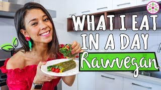 WHAT I EAT IN A DAY RAWVEGAN