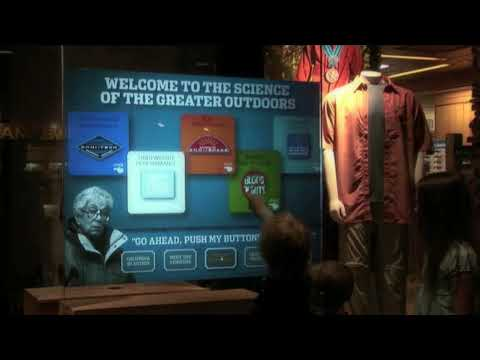 Columbia Interactive store window