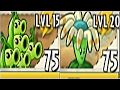 Teams Pea Pod Max Level Up System Vs Bloomerang Pvz 2 In Plants Vs. Zombies 2: G