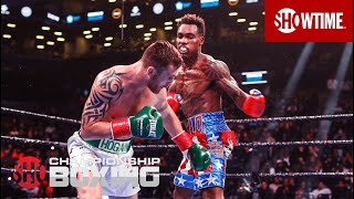 Jermall Charlo Stops Dennis Hogan in Round 7 | SHOWTIME CHAMPIONSHIP BOXING