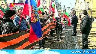 Протестовать против действий НАТО на улицы болгарской столицы вышли тысячи людей.
