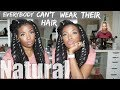 Everybody Can't Wear Natural Hair! Issa Rant | Jen Talks | What Lies Beneath the Weave