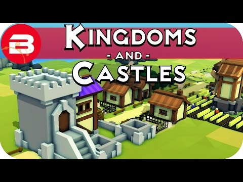 Kingdoms and Castles Gameplay - Medieval City Building Game #1 - Let's Play Kingdoms & Castles Alpha