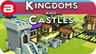 Kingdoms and Castles Gameplay - Medieval City Building Game #1 - Let