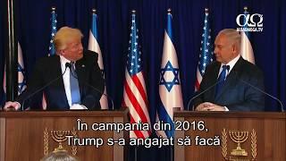 Președintele Trump amană mutarea ambasadei SUA la Ierusalim