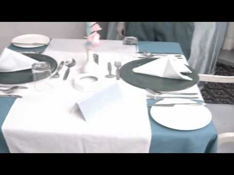 Intra College Restaurant Table Set-up Competition.flv - YouTube