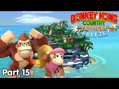 Slim Plays DKC: Tropical Freeze - #15. Jungle of Juice