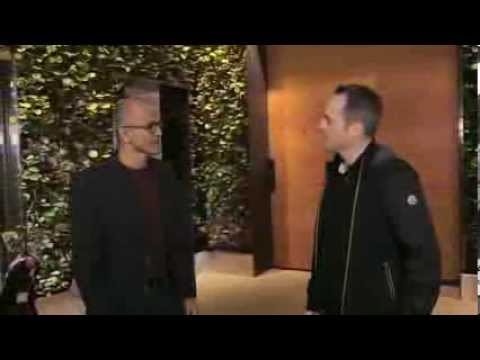 Satya Nadella  His first interview as CEO of Microsoft