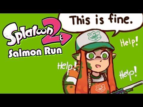 The Struggle to Survive (Splatoon 2 Salmon Run)