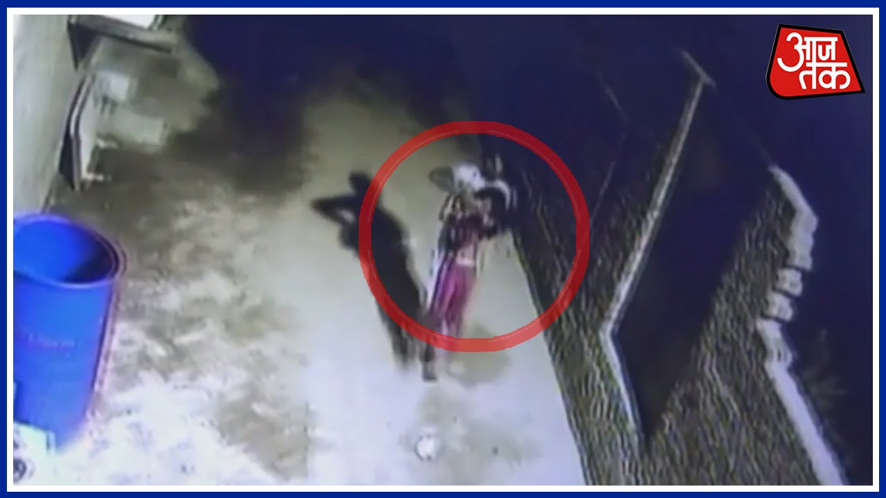 Caught On Camera 8 Year Old Kidnapped And Raped In Delhi