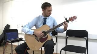 Уроки гитары в Благовещенске - Frozen Let It Go Guitar cover