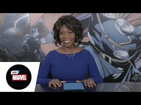 Ask Marvel: Alfre Woodard from Marvel's Luke Cage