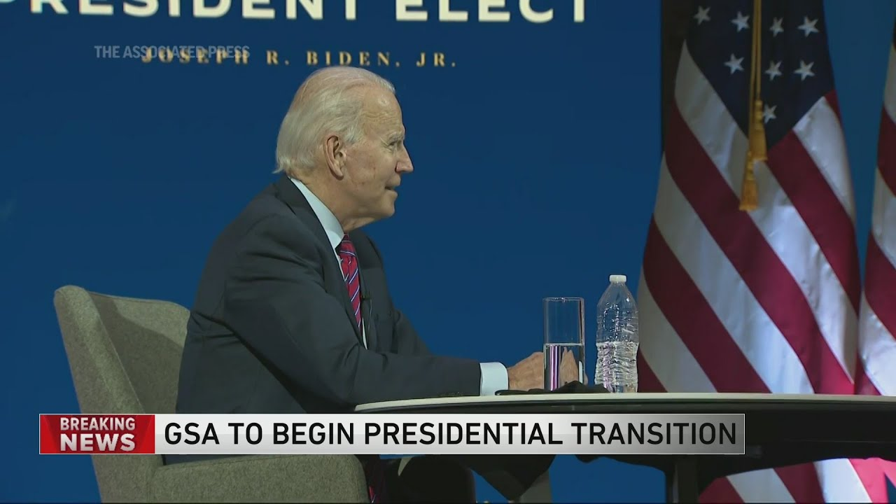Transition allowed to begin as U.S. agency ascertains Biden won ...