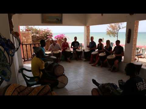 Amadabo Diallo Trommelworkshop im Senegal