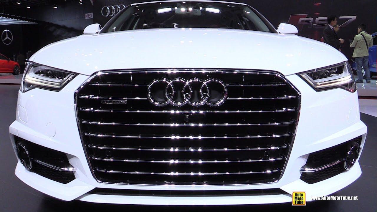2015 Audi A6 TDI Quattro S-Line - Exterior and Interior Walkaround - 2015 Detroit Auto Show - YouTube