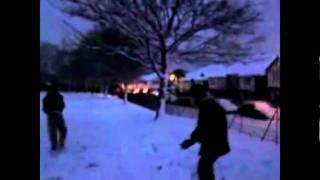 Cheam Snow Fight - Tahir News
