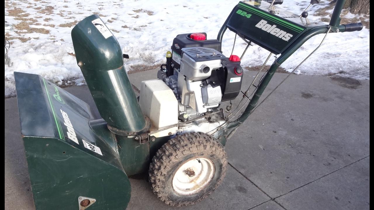 Old Bolens Parts Lookup : John deere snow blowers wiring diagram