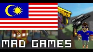 The most difficult Game in ROBLOX!!!! [Mad Game] Roblox #Malaysia