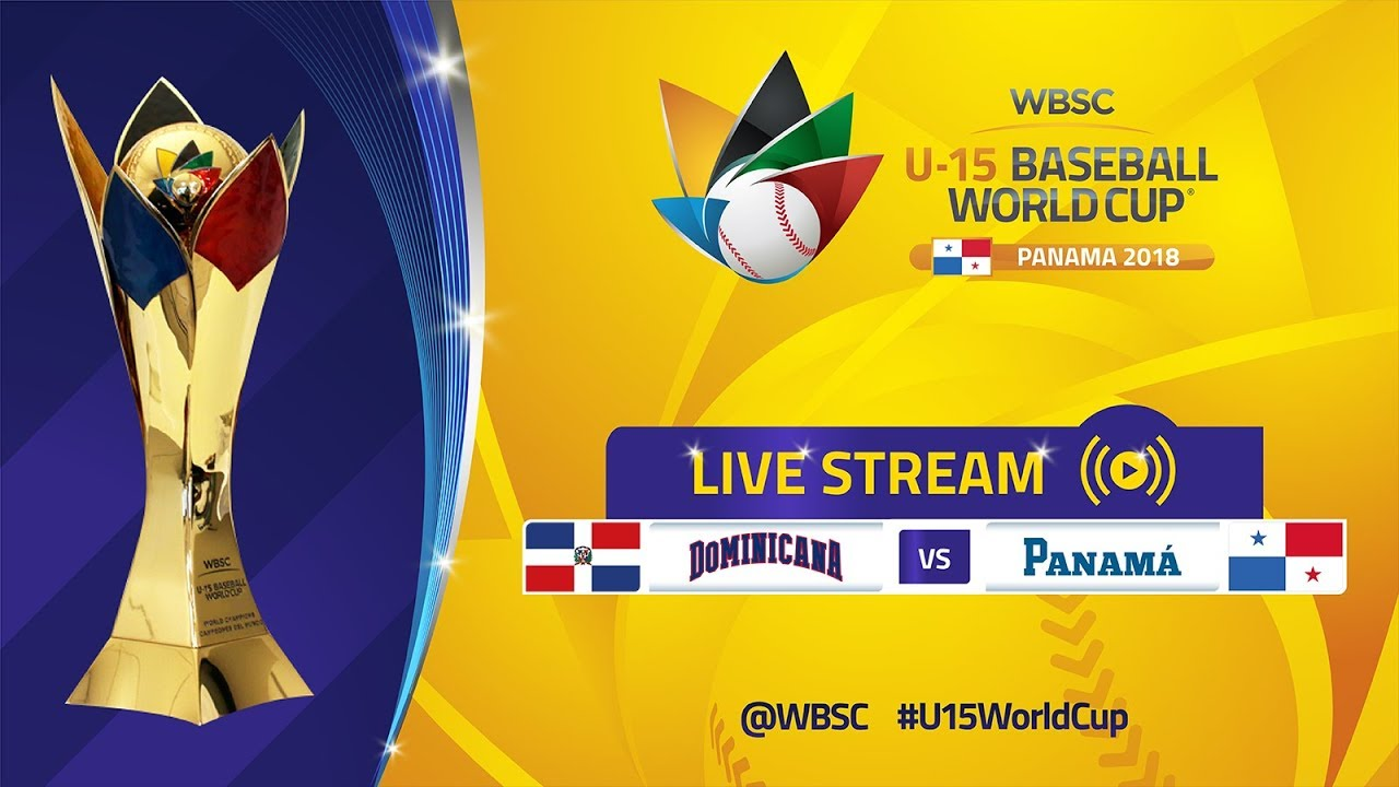 Dominican Rep v Panama - Super Round - U-15 Baseball World Cup 2018