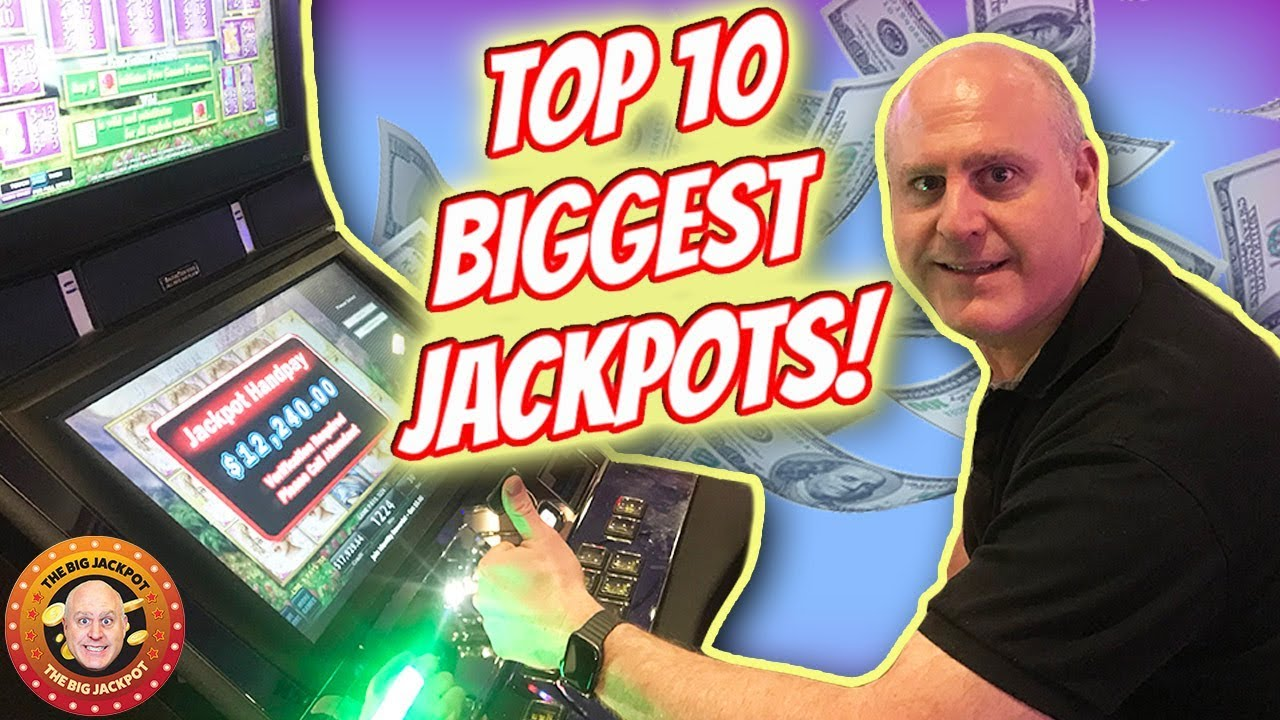 Top 10 Biggest Jackpot January 2019 Best Slot Handpay