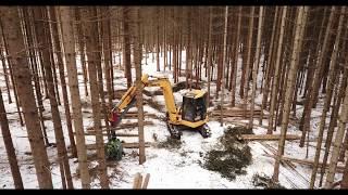 Ecoforst AJ 35 Harvestinghead | Prototype