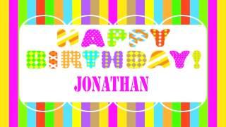 Jonathan   Wishes & Mensajes - Happy Birthday